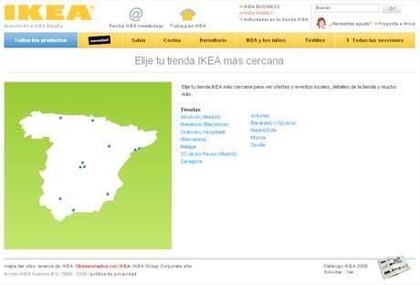 Ikea Espagne Carte.Ikea Un Exemple De Sites Web Globaux A Suivre Paperblog
