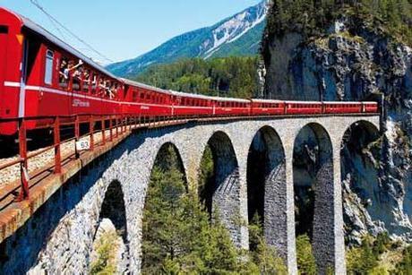 train pont