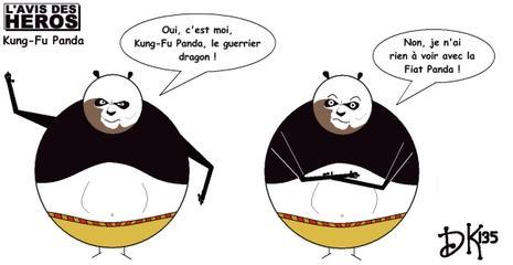 Lavis Des Héros Kung Fu Panda Paperblog