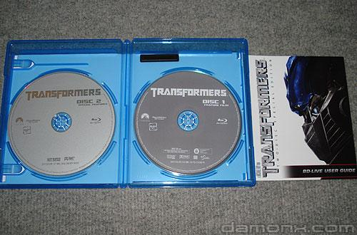 Blu Ray Transformers Special Edition