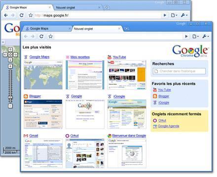 Et donc Google lance son navigateur : Google Chrome !