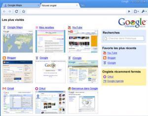 Chrome, le navigateur innovant de Google