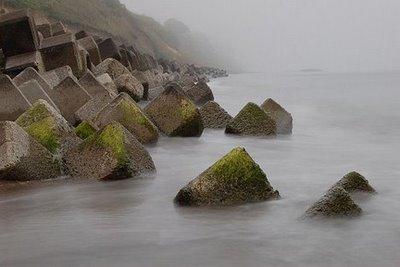 Japan Tetrapod Beaches - Plages de Tetrapodes au Japon