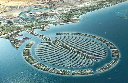 projet hotelier, touristique et urbain sur île artificielle