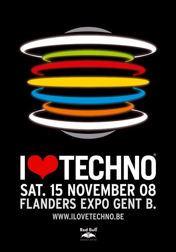 Line-up I Love Techno 2008