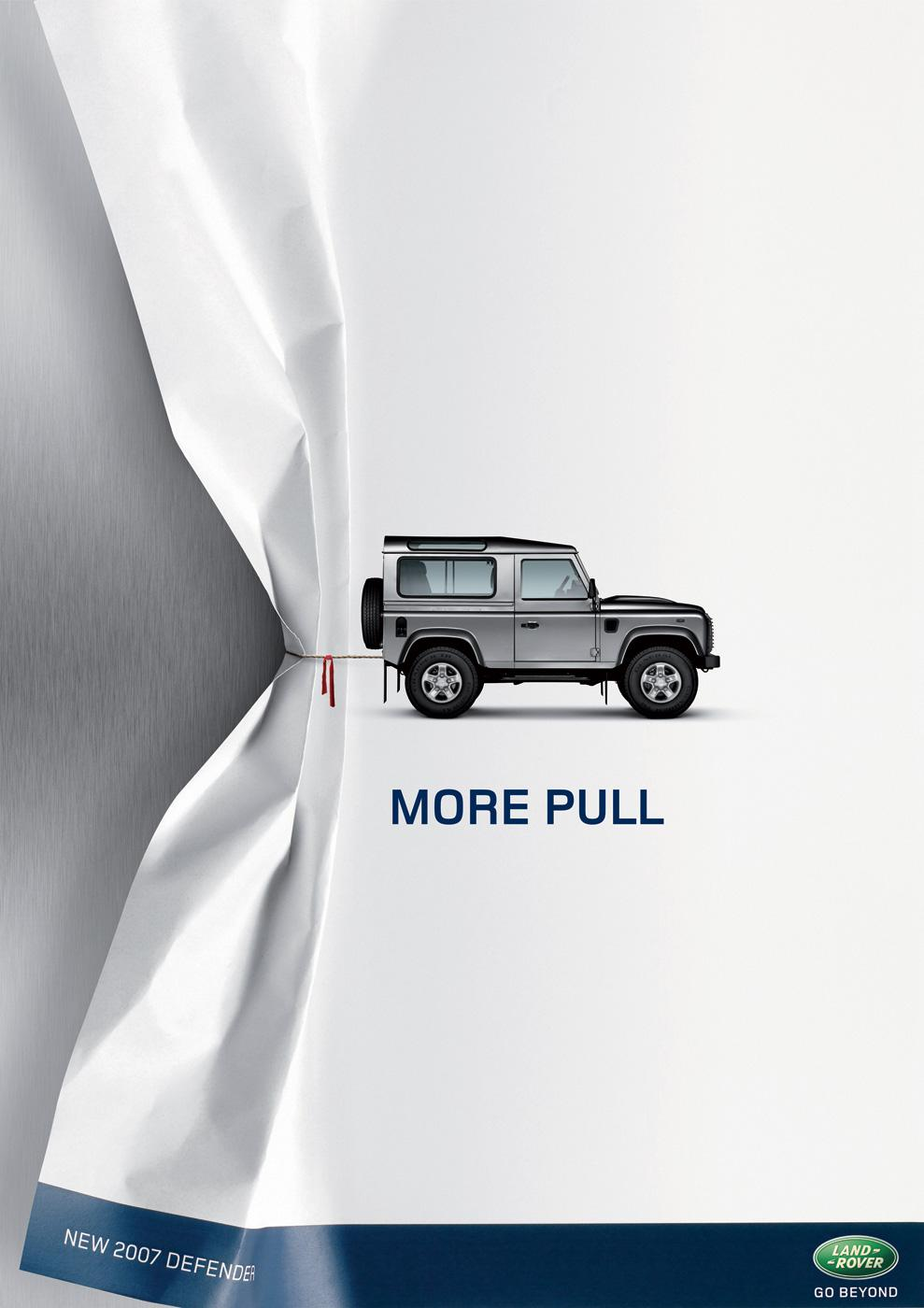 Land Rover UK: More pull