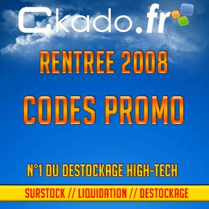 Ckado.fr, le site leader de la vente de matériel High-Tech destocké