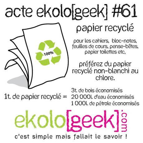 Acte ekolo[geek] #61