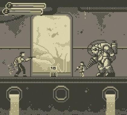 Des jeux actuels revisités façon Game Boy !