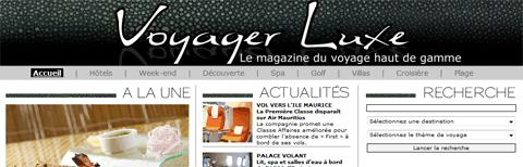 Voyager Luxe