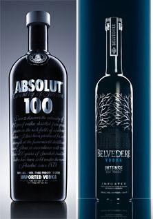 Belvedere Intense, copie de l'Absolut 100 ?