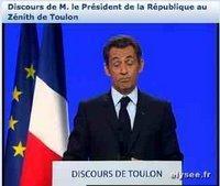 Sarkozy à Toulon: gaucho, prophète ou paralysé ?