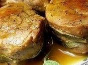 Médaillons porc l'orange sauge