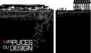 Les puces du design : sauvetage d'objets des 5.5 designers à 1 euro + ouverture du 104