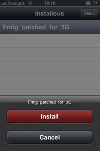 Se connecter en 3G avec Fring