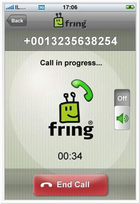 La Voip sur votre iPhone avec fring Redneck - buzzmarketing