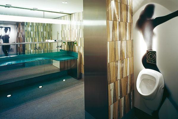 Toilettes design d couvrir for Hotel design zelande