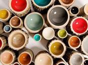 Bowls bols bois multicolores
