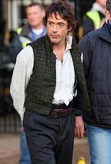 Sherlock Holmes : les premières photos du tournage !