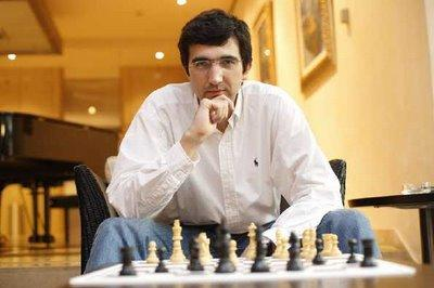 Le champion russe d'échecs Vladimir Kramnik - photo Chessbase
