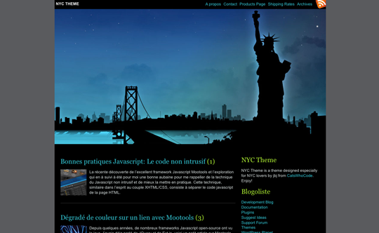 NYC WordPress Theme