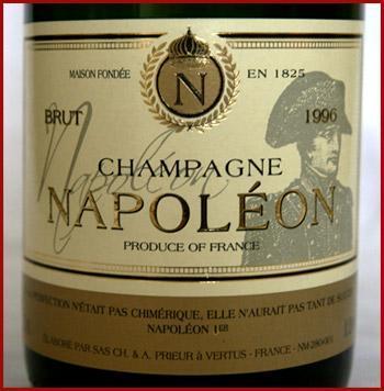 Le Champagne Napoléon arrive