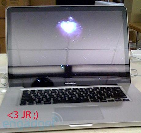 Le nouveaux MacBookPro (photo)