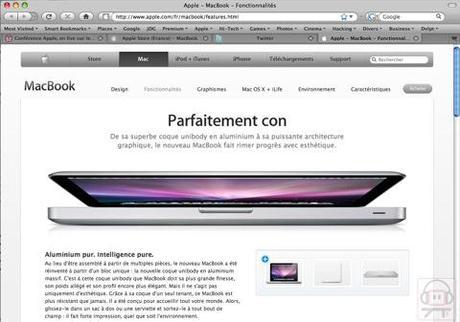 "MacBook : ""Parfaitement con"""