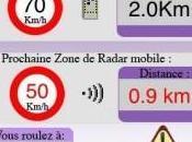 Store détecteurs radars pour iPhone