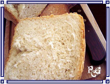 Un bon p'tit pain tout simplement