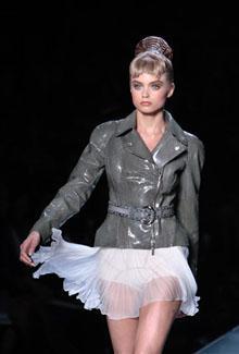 Défilé Dior pap été 2009 à Paris (AFP. - F.Guillot)