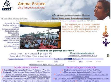 De retour de chez Amma sur Toulon :-)
