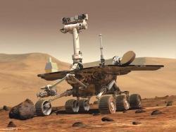 Mars Science Laboratory (image générée par ordinateur)