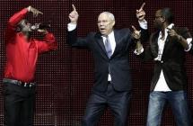 Colin Powell se lâche sur la scène du Royal Albert Hall, suite