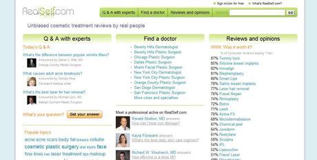RealSelf.com : un réseau social sur la chirurgie plastique