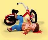 tricot gore accident de vélo