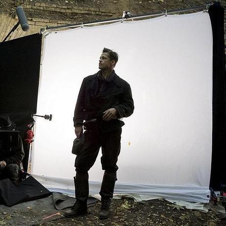 Inglourious Basterds : premières photos du tournage du prochain Quentin Tarantino !!