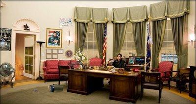 Sarah palin dans le bureau ovale d couvrir for Bureau ovale