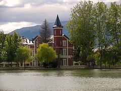 Le lac de Puigcerdà