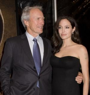 Angelina Jolie et Clint Eastwood