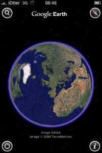 Google Earth iPhone 3