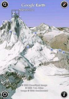 Google Earth pour iPhone