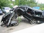accident voiture méconnaissable