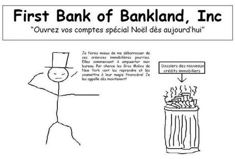 Bande dessinée sur la crise des subprimes