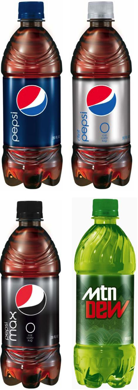 Pepsi renouvelle tous ses packagings !