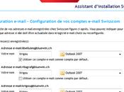 L'assistant E-mail Swisscom