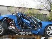 Accident d'un roadster Tesla France
