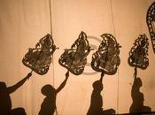 jour, photo Phnom Penh, Sovanna Phum Theatre Marionnettes d'ombres