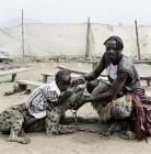 hyène et enfant