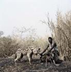 hyène et son propriétaire